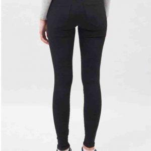 Dr. Denim Lexy Black Mid Waist Skinny Jeans