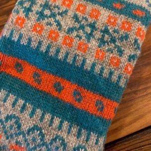 American Trench Fair Isle Socks Merino and Cashmere Blend