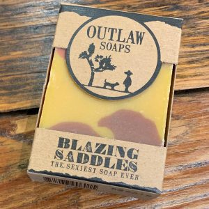 Blazing Saddles Bar Soap Outlaw Soap Co.