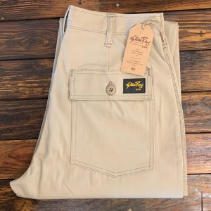 Stan Ray Tapered Fatigue Khaki Twill Pants