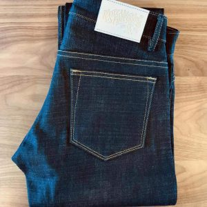 Railcar Fine Goods X056 Spikes 14 oz. Slim Tapered Jeans