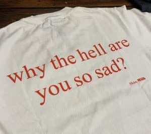 Skim Milk Makes You Happy T-shirt