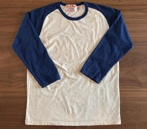 Left Field NYC Earth Confetti Raglan Tee 3/4 Sleeve