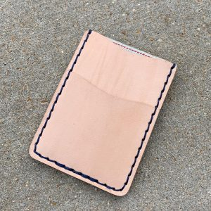 Natural Selvedge Minimalist Wallet