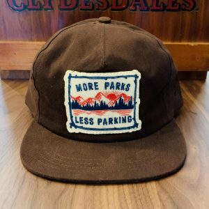 The Ampal Creative More Parks Strapback Hat