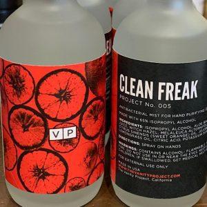 The Vanity Project Clean Freak Antibacterial Mist