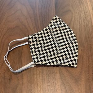 Houndstooth Resuable Face Mask