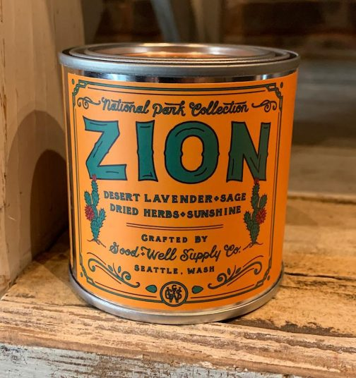 Half Pint Candles by Good & Well Supply Co. Zion.
