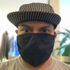 Flipside Hats Black Facemask
