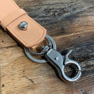 Natural Leather Key Fob