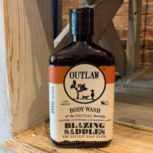 Blazing Saddles Bodywash Outlaw Soaps