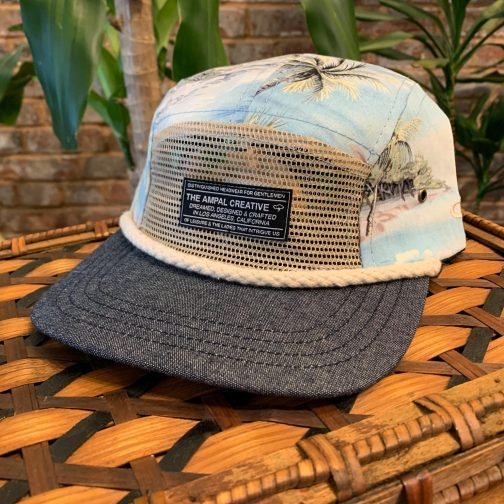 Seven Seas 5-Panel Hat by The Ampal Creative.
