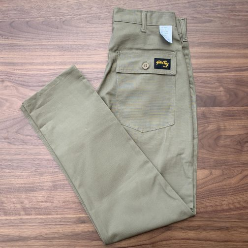 Stan Ray Dark Khaki Ripstop Fatigue Pant Slim
