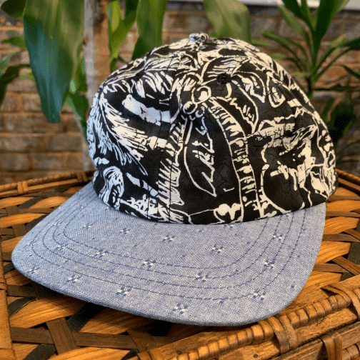Black Seas 6-panel hat by The Ampal Creative.
