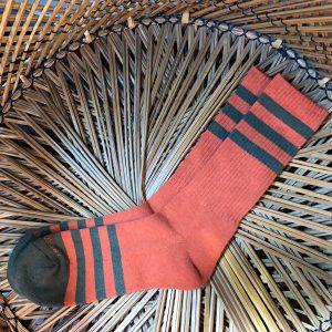 The Ampal Creative Heather Stripe Socks