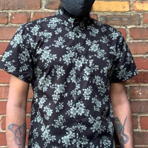 Naked and Famous Floral Sketch Easy Shirt