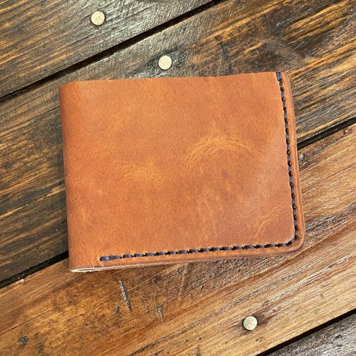 Classic Tan Billfold Wallet.
