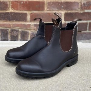 Blundstone 500 Stout Brown Chelsea Boots