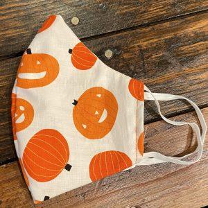 Pumpkins Reusable Face Mask