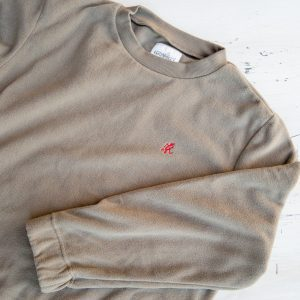 Gramicci Fleece Crew Neck Shirt Walnut