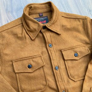 Schott NYC Coyote CPO Wool Shirt