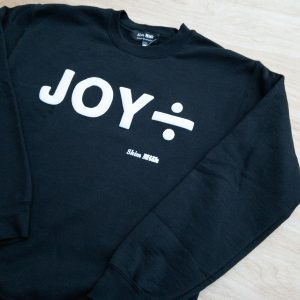 Skim Milk Joy Division Black Sweatshirt