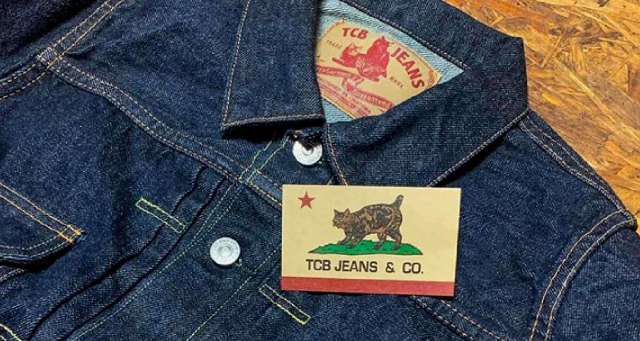 TCB Jeans Made in Japan