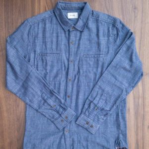 Stitch Note River Road Denim Flannel Shirt