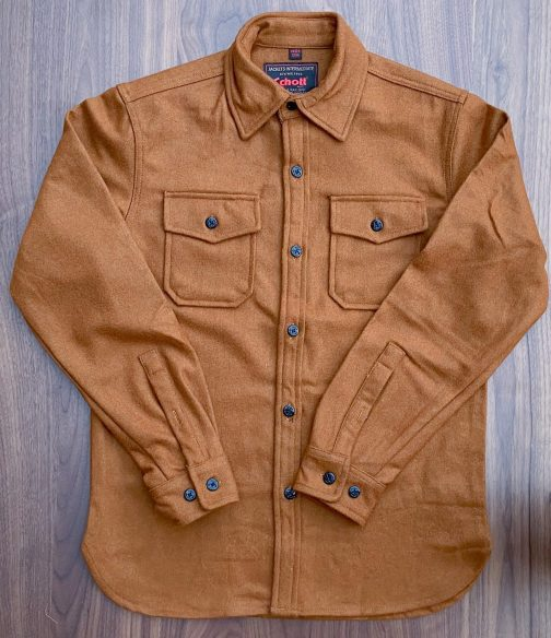 Schott NYC Coyote CPO Wool Shirt