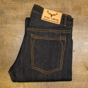 Nama Denim Deep Blue Ombre Selvedge ND124 Slim Tapered