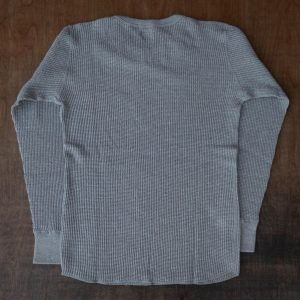 DubbleWorks Waffle Thermal Long Sleeve Heather Gray