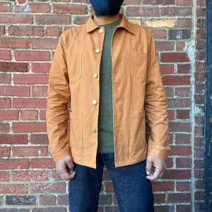 Wolf French Duck Brown Chore Jacket