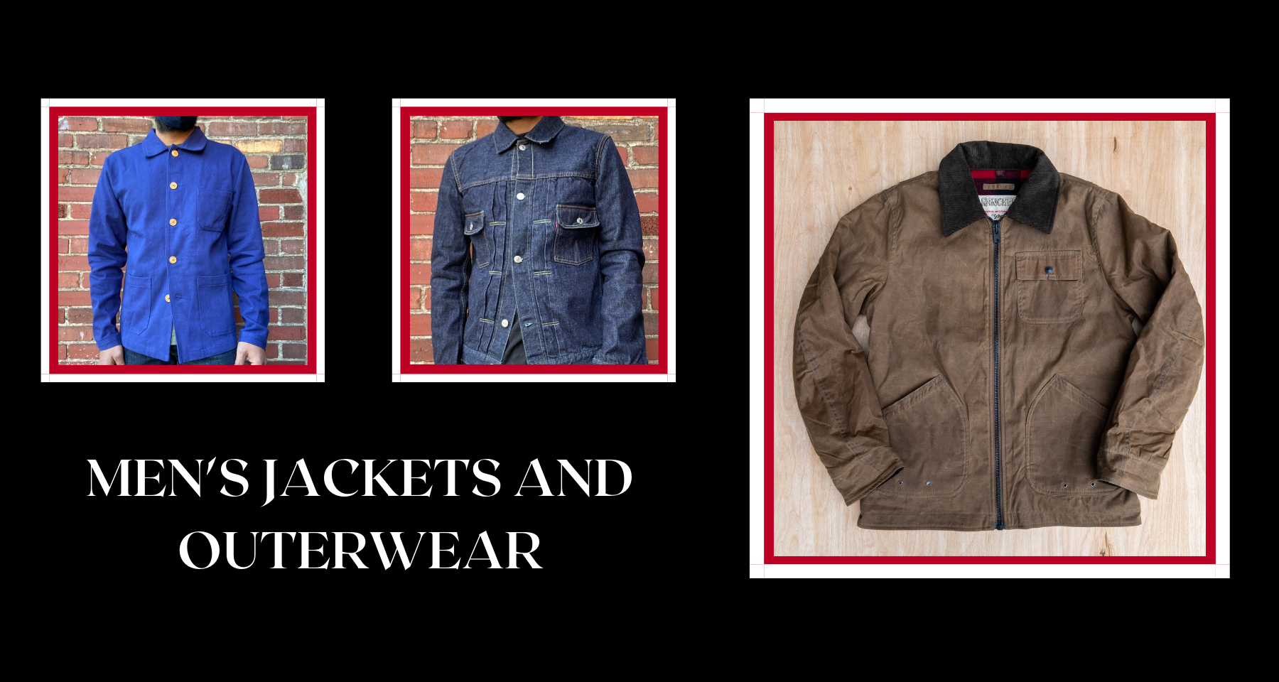 MEN'S JACKETS AND OUTERWEAR