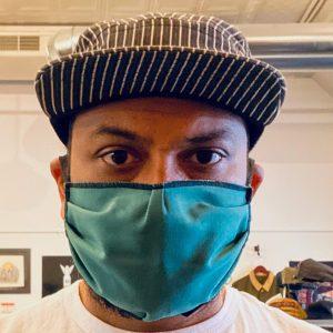 Flipside Hats Spruce Green Facemask