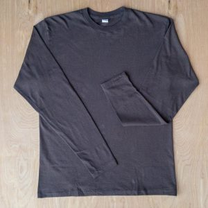DubbleWorks Long Sleeve Tee Ash Black