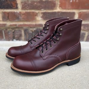 Red Wing Heritage Iron Ranger 8119 Oxblood Lace Up Boots