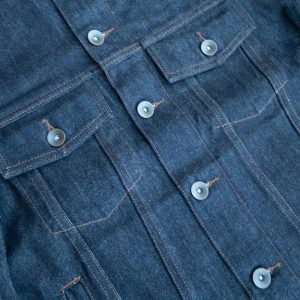Unbranded UB901 14.5 OZ. Indigo selvedge denim jacket