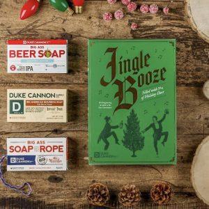 Duke Cannon Jingle Booze Soap Boxset