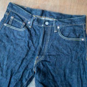 Burgus Plus 770-22 Indigo Standard Selvedge Jeans
