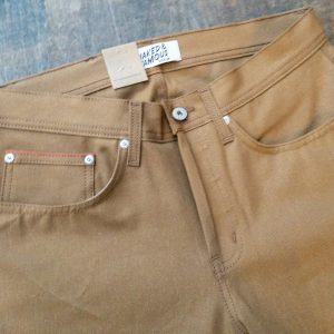 Naked And Famous Denim Duck Canvas Selvedge