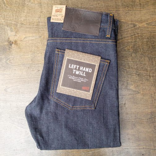 Naked And Famous Denim Super Guy Left Hand Twill Selvedge Jeans