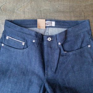 Naked & Famous Denim Weird Guy Indigo Selvedge Jeans