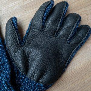 Upstate Stock Ragg Wool Deerskin Gloves