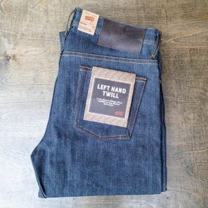Naked & Famous Denim Left Hand Twill Weird Guy Tapered Leg Selvedge Jeans