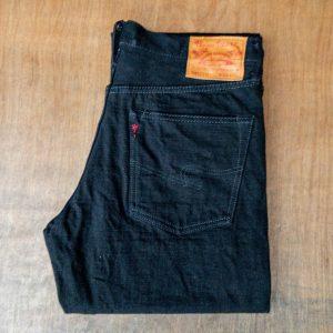 Burgus Plus 770-99 Standard Black Selvedge Jeans