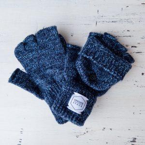 Upstate Stock Glomitt Convertible Fingerless Gloves