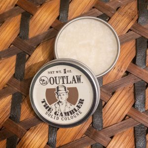 The Gambler Solid Cologne Outlaw Soap Co.