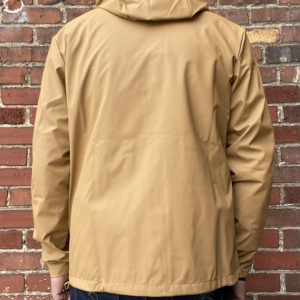 Rains Khaki Short Hooded Jacket
