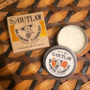 Outlaw Soap Co. Blazing Saddles Solid Cologne