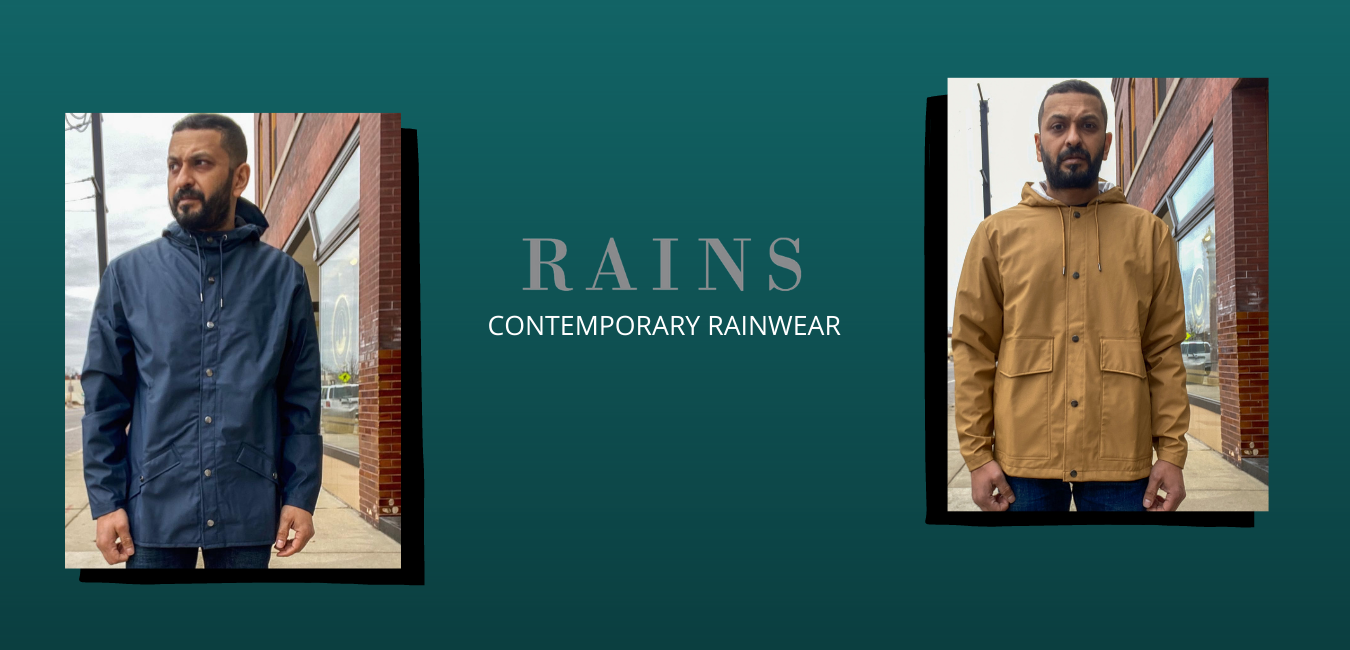 RAINS Contemporary Rainwear at Crimson Serpents Outpost